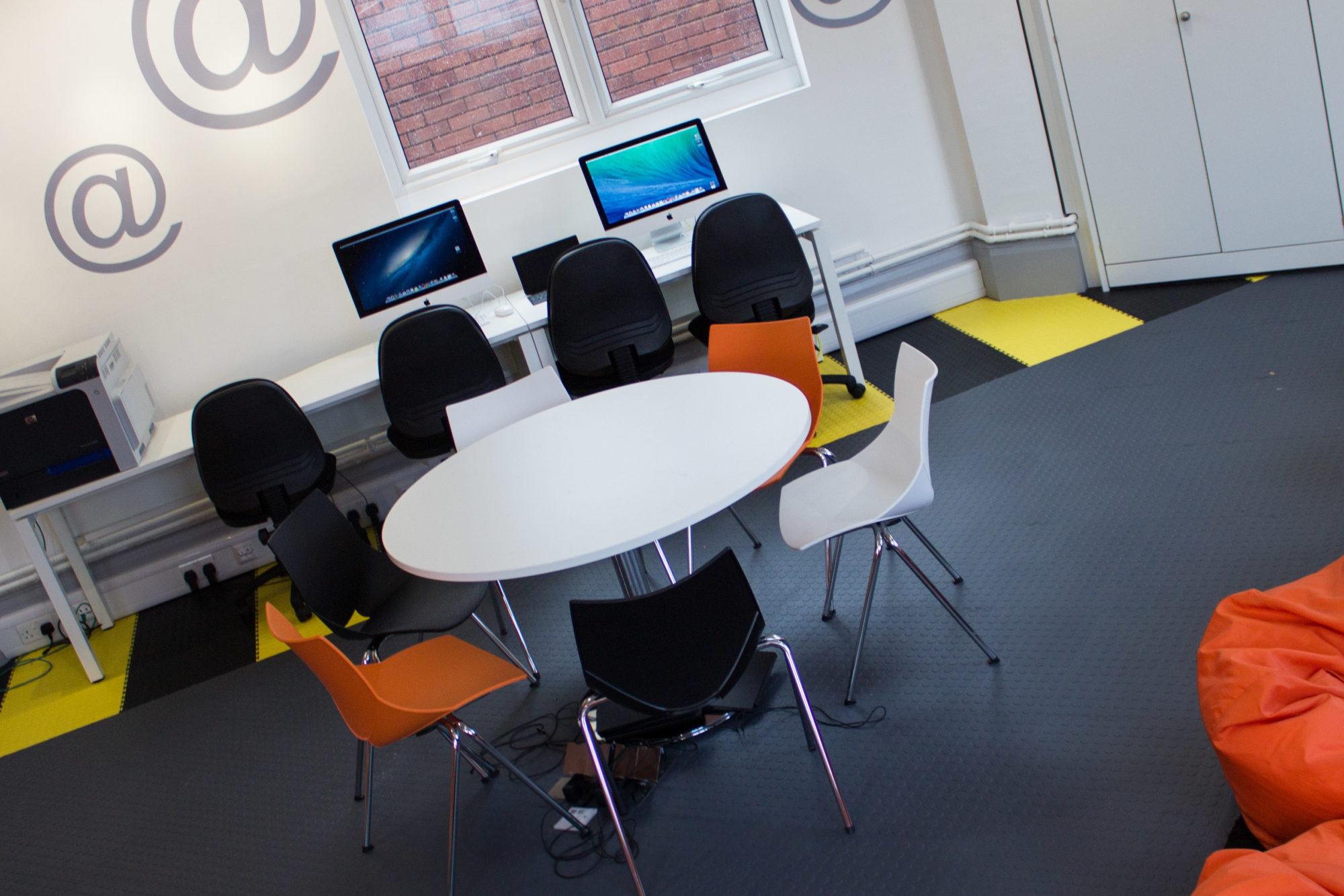 School IT room