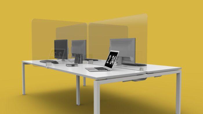 Corona Virus Protective desk screens