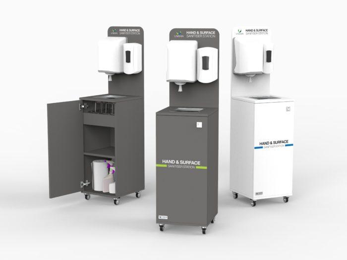 Corona Virus Hand Washing Station
